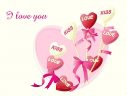 Valentine pictures - Love candy