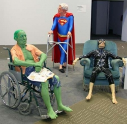 Celebrity photos - Retirement home for super heroes