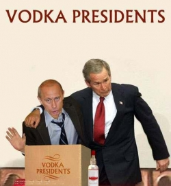 Celebrity photos - Vodka president