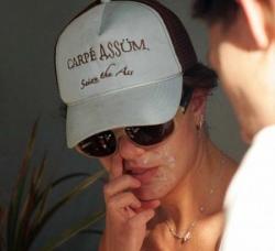 Celebrity photos - Picking nose