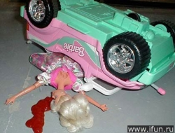 Funny photos - Barbie