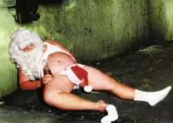 Funny photos - Santa Claus