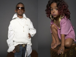 Baby pictures - Kanye and Kelis