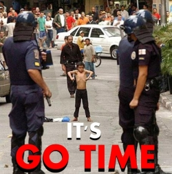 Funny photos - It's go time