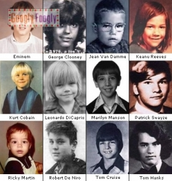 Celebrity photos - When they was the children