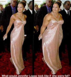 Celebrity photos - Jlo fat