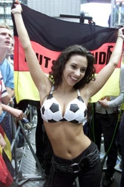 Funny photos - German soccer fan
