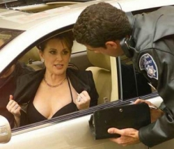 Funny photos - How to avoid a ticket