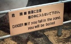 Funny photos - Danger