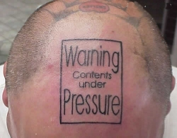Funny photos - Contents under pressure