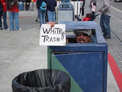 Funny photos - White trash