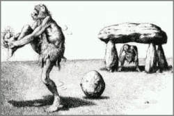 Sportsmen photo - Ancient Soccer