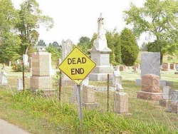 Funny photos - Dead end