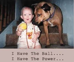 Baby pictures - I have a power...