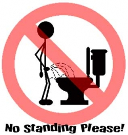 Funny photos - Toilet warning