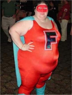 Funny photos - Super fat woman