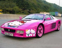 Car photos - Hello Kitty's