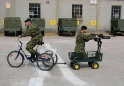 Funny photos - Military might