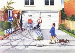 House pictures - His and Her Driving