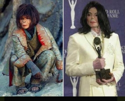 Celebrity photos - MJ's evolution