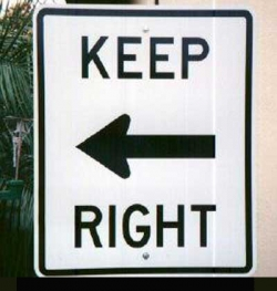 Funny photos - Left - right