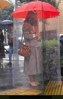 Funny photos - Keep totally dry