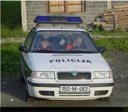 Funny photos - Police sleeping