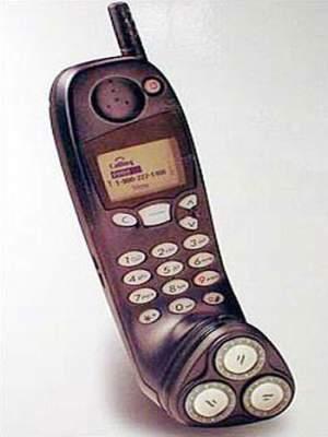 Razor and phone