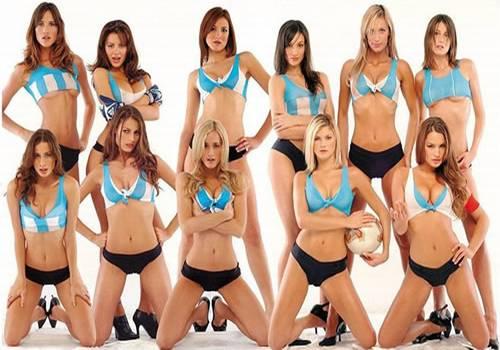 Sexy soccer team
