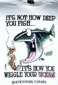 It's not how deep