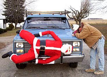 Ahh... I killed the Santa