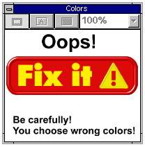 Funny photos - You choose wrong colour