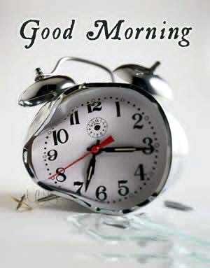 Good morning, lazy man
