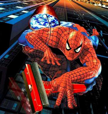 Spider man works