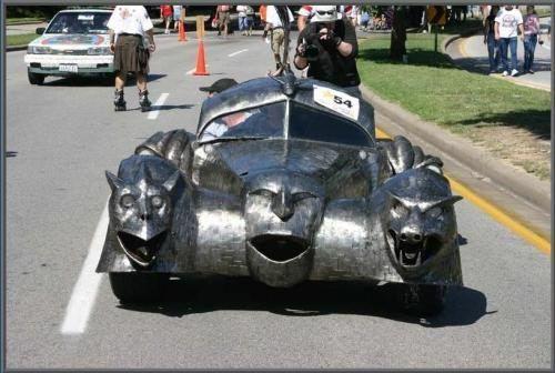 Funny Car Parade