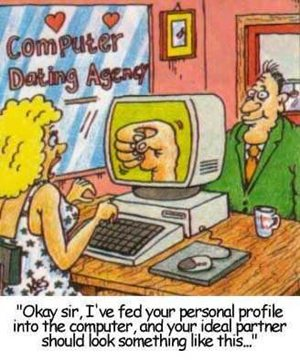 Computer dating aency