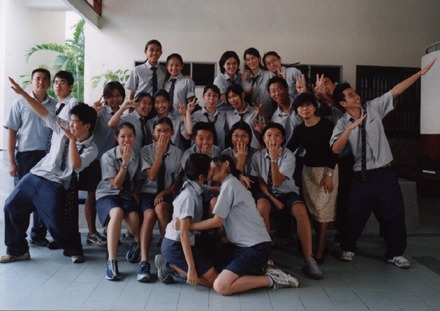 Crazy class's pic