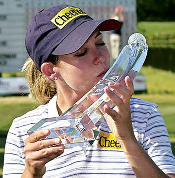 Cristie's trophy