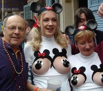 Disney's bra