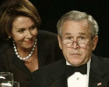 Bush & Nancy