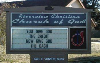 God need?