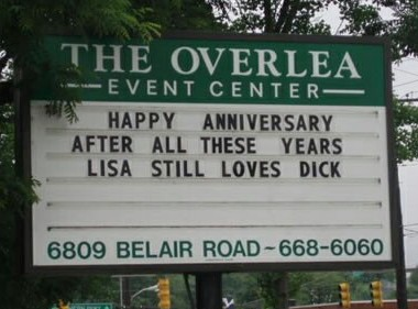 Dick's anniversary