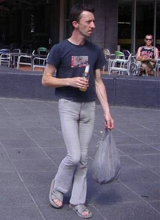 Man like tight jeans