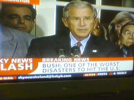 Media turns on G. Bush