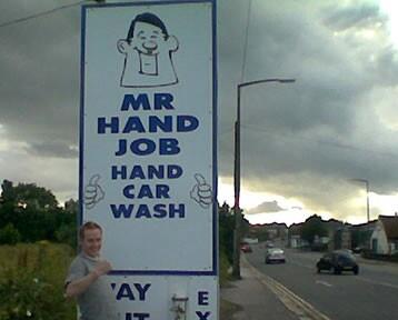 Mr hand job