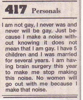 Gay personals