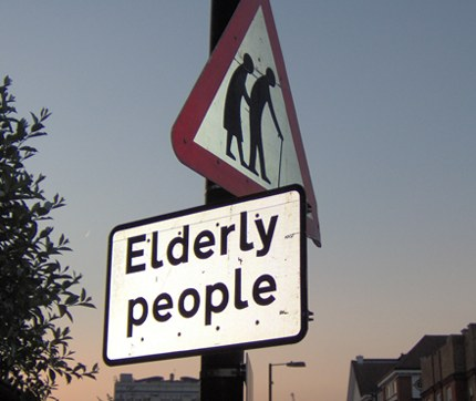 Only elderly people