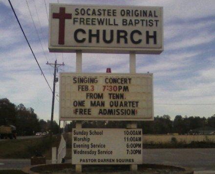 Singing concert