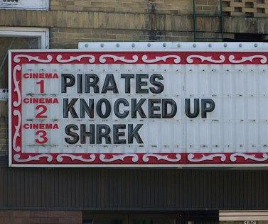 Pirates n Shrek