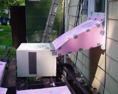 Redneck's air conditioner